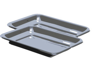 2 Cooking Trays